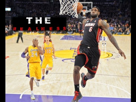 The Realness: Lebron In Making History!