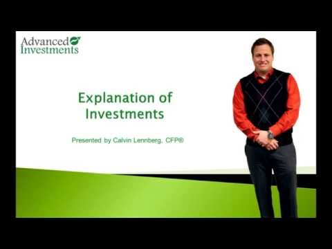 Explanation of Investments
