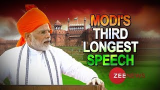 This Independence Day, PM Narendra Modi delivered his third longest speech