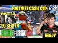 BenjyFishy *DESTROYS* Streamers in Solo Cash Cup Tournament!