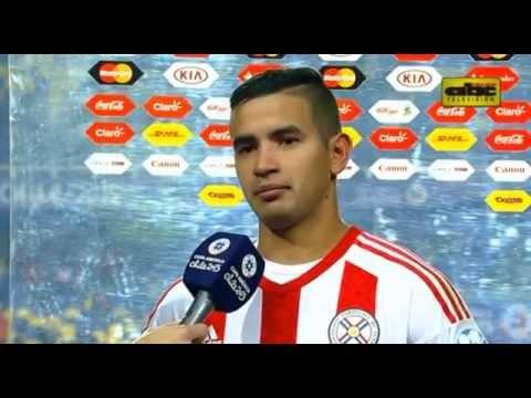 Derlis González y Ramón Díaz - Notas post partido Paraguay 1 (4) vs. Brasil 1 (3)