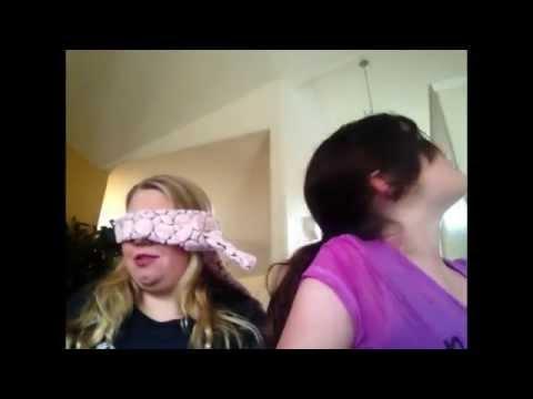 Blind Folded Makeup Challenge W  Tori Black video
