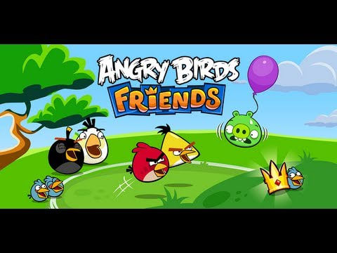 Angry Birds Friends - Iphone ipod Touch ipad android Gameplay Hd video