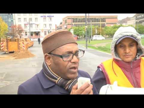 Ethiopians In Germany Würzburg Protest Against Government Crackdown
