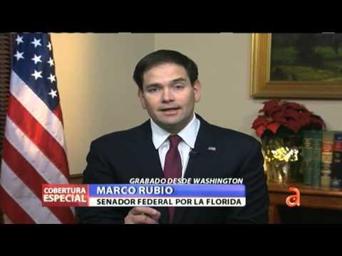 Pedro Sevcec habla con el senador Marco Rubio  - América TeVé