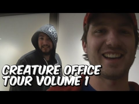 The Creatures Office Tour: VOL 1