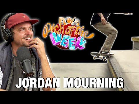 Jordan Mourning - Eldy's Pick Of The Week