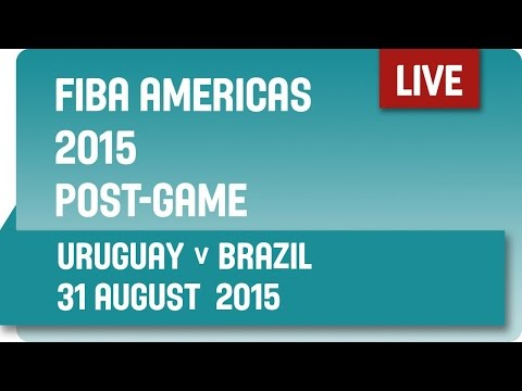Post-Game: Uruguay v Brazil - Group A -  2015 FIBA Americas Championship
