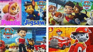 Best of PAW PATROL Puzzle Games Rompecabezas LA PATRULLA CANINA for kids Learning Toys 2016