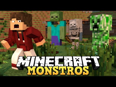 MINECRAFT -  ATAQUE DO ZUMBI GIGANTE!