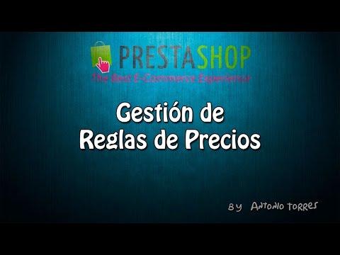 Curso Prestashop 1.6 #11 Gestión de reglas de precios (vales de descuento)