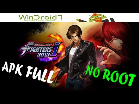 THE KING OF FIGHTERS 2012 PARA ANDROID // Tutorial Instalacion + Como Desbloquear Peleadores
