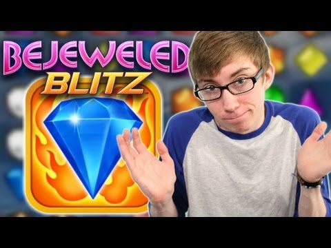 Bejeweled Blitz - WHY AM I PLAYING THIS - Part 1 (iPhone Gameplay Video)