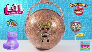 LOL Surprise Big Ball Blind Bag Toy Opening Hatchimals Squish Dee-Lish Disney | PSToyReviews