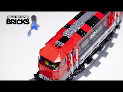 Lego City 60098 Heavy Haul Train Speed Build