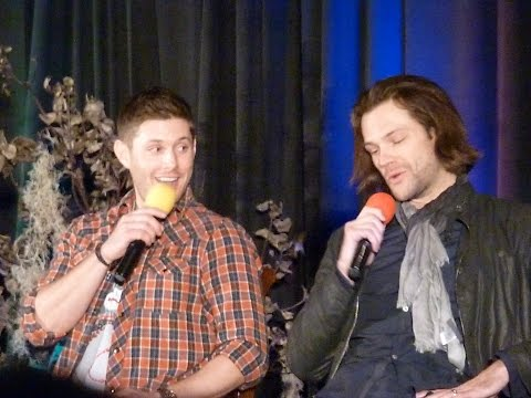 Salute to Supernatural San Francisco 2015 - Jared & Jensen's Panel - Part 1