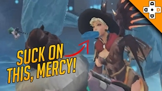 Overwatch FUNNY & EPIC Moments 37 - SUCK ON THIS, MERCY! - Highlights Montage
