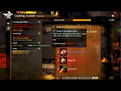 Guild Wars  Crafting Leveling Guide