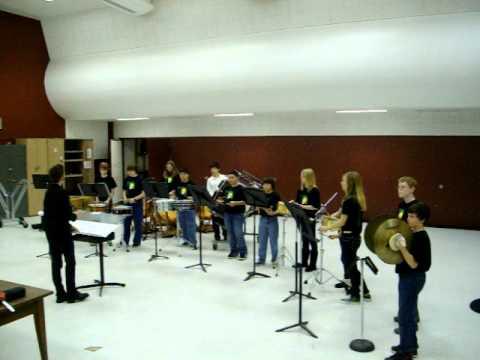 Sequoia Middle School Percussion Ensemble 2011
