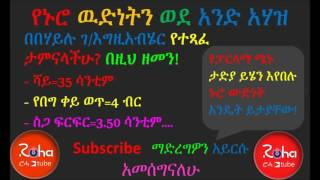 Ethiopian Parliament Members And Their people Sheger Program By Habtamu Siyum