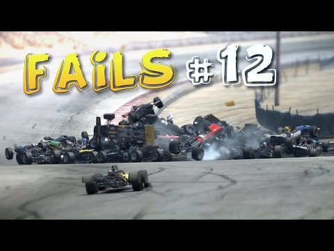 Racing Game FAILS Compilation #12
