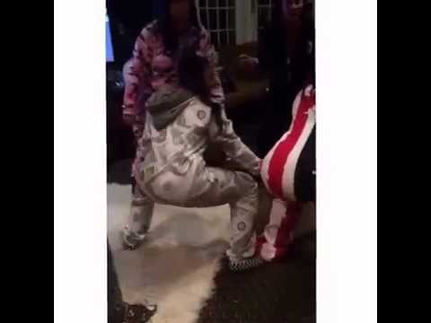 Ashanti pajama party twerk contest thumbnail