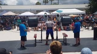 Luke Stoltman 340kg Squat for reps - The World's Strongest Man 2019