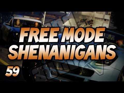 Firefights & A Coastline Tour! (GTA V Free Mode Shenanigans #59)