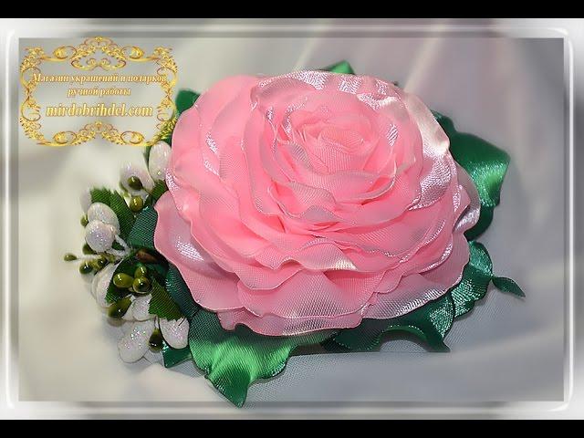 Пышная роза своими руками 191