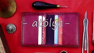 luxury leather wallet | handmade leather wallet | leather wallet slim