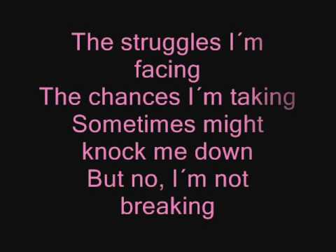 Miley Cyrus - The Climb ( Lyrics/Songtext )