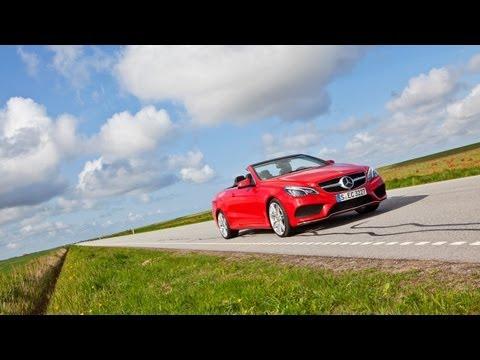 Mercedes-Benz E-class Coupe & Cabriolet — за кадром