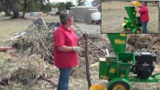 Garden Chipper Mulcher Shredder Red Roo