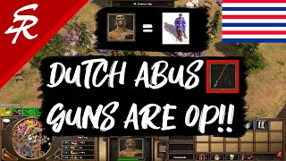 DUTCH HAVE ABUS GUNS!? You read that right! Age of Empires III