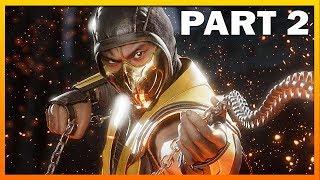 Mortal Kombat 11 Gameplay STORY MODE Walkthrough Part 2 - Truths Revealed [MK11 Xbox One X]