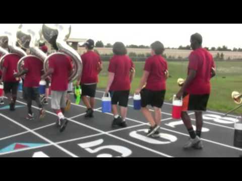 Wekiva High School Marching Band Summer Camp 2014