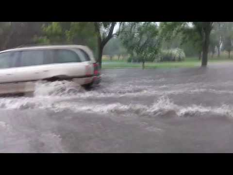 Powódź Białystok 20.06.17