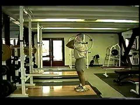 Hang Clean Form / Tutorial Image 1