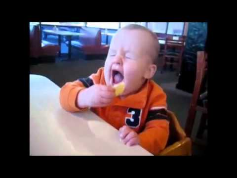 Babies Eating Lemons for the First Time - Top 10