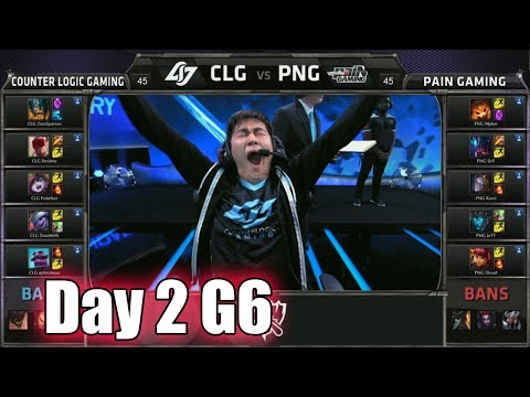CLG vs paiN Gaming | Day 2 Game 6 Group A LoL S5 World Championship 2015 | CLG vs PNG D2G6 Worlds