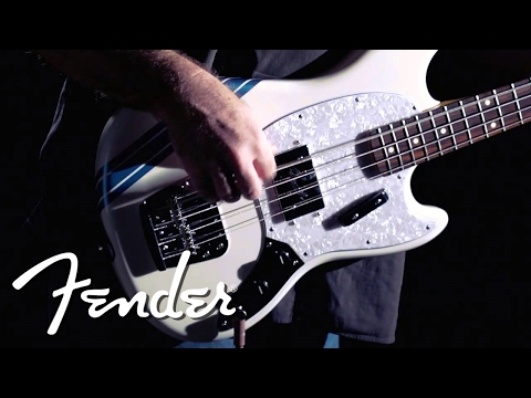 Fender Pawn Shop Mustang Bass Demo
