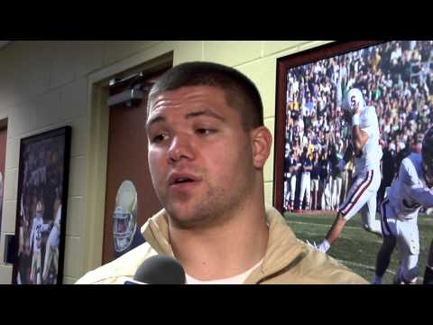Notre Dame Football Player Interviews - SC Week