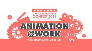 Cartoon Animator 4, Animation At Work 2019 - Animated Projects for Real Life