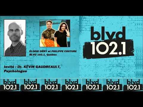 Psychologie: Dr. Kévin Gaudreault en entrevue à BLVD de Québec (2019)