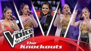 Ridmika Mendis | Mashup | Kurullo Nube Thalen | Hume Tumse | The Knockouts | The Voice Sri Lanka