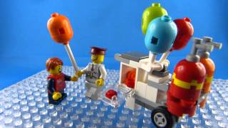 LEGO® Creator Balloon Stand (40108) Time Lapse Build