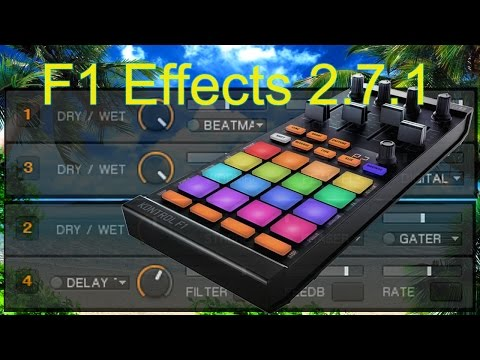 F1 Effects mapping for Traktor