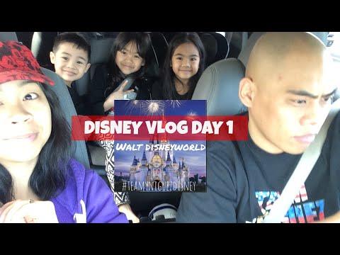 2015 Walt DisneyWorld Vlogs: Day 1 22hr Roadtrip from NJ to FL