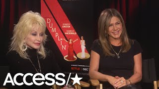 Dolly Parton Reveals How Her Husband Responded To Her Jennifer Aniston-Threesome Bombshell