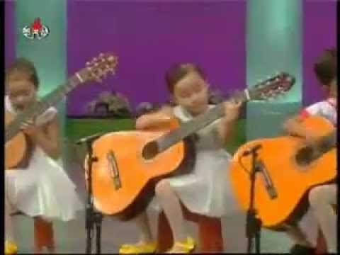 Kytarový Koncert čínské Mateřské školky